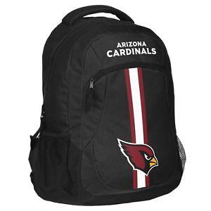 Arizona Cardinals Logo Action BackPack School Bag Back pack Gym Travel Book
