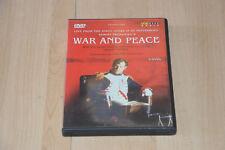 DVD musical WAR and PEACE - Sergei Prokofiev - opéra live