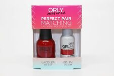 31164 - Orly Gel FX .3oz + Nail Lacquer .6oz Combo - Ma Cherie