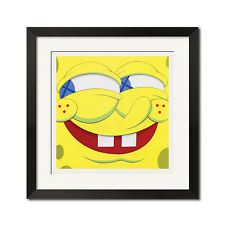 Spongebob SquarePants Again and Again Urban Street Graffiti Poster Print