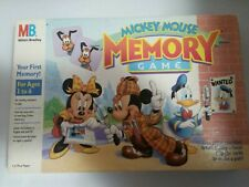 New listing Mickey Mouse Memory Game-Milton Bradley-Matching-Great game
