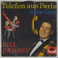 Pochette Téléphone 45 tours Bill Ramsey Telefon aus Paris