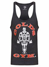 Goldsgym Muscle Joe Premium Canotta Grigio (charcoal Marl) Small Gold's Gym
