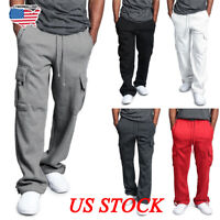Men's Baggy Jogger Casual Trousers Shorts Sport Pants Training Gym Fit Tracksuit