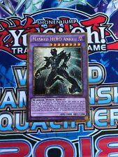 Yugioh, PGL2-EN011, Masked HERO Anki, Gold Secret Rare, 1st Edition, Near Mint