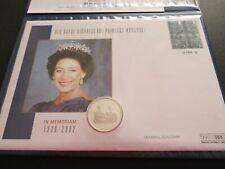 HRH Princess Margaret Silver 2000 Crown Coin Cover