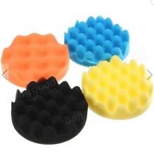 4pcs Sponge Wave Polishing Buffing Pads Kit 6 Inch for Car polisher