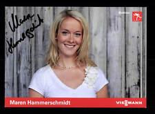 Maren Hammerschmidt originale firmato Sci di Fondo + a 155204