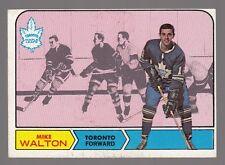 [59083] 1968-69 TOPPS MIKE WALTON #132 TRADING CARD TORONTO MAPLE LEAFS
