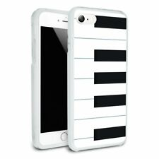 Piano Keys Keyboard Pianist Music Slim Hybrid Case Fit iPhone 8, 8 Plus, X