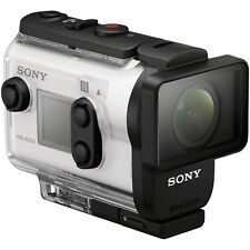 NEW Sony Action Cam HDR-AS300 Wi-Fi HD Waterproof Video Camera Camcorder WHITE