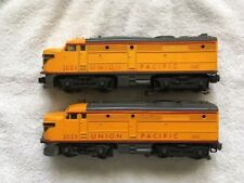 LIONEL 2023 YELLOW UNION PACIFIC ANNIVERSARY DIESEL SET, EX- Condition