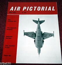 Air Pictorial 1961 May Cessna 210,Sopwith Dolphin,RAF 53 Squadron