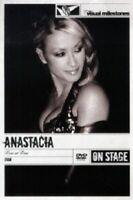 ANASTACIA - LIVE AT LAST-ON STAGE/VISUAL MILOESTONES  DVD  23 TRACKS POP  NEU