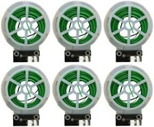 6 ea Miracle Gro Smg12118W 80 ft Roll Green Plastic Plant Twist Tie w Cutter