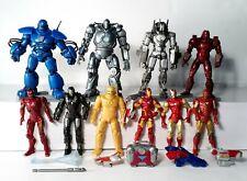 "Marvel Universe 3.75"" Huge Lot of 10 Iron Man Variants Iron Monger Drone Hasbro"