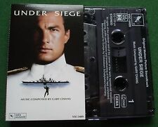 Under Siege Original Motion Pic Soundtrack Gary Chang Cassette Tape - TESTED