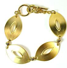 ELEGANT GOLD MULTI LAYER CHUNKY BRACELET UNIQUE STUNNING BRAND NEW  (ST46)