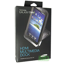 NEW Original SAMSUNG GALAXY TAB P1000 MULTIMEDIA DESKTOP DOCK Cradle CHARGER RET