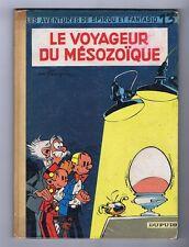 FRANQUIN. Spirou 13. Le voyageur du Mésozoïque. 1960.
