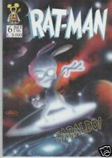 RAT - MAN ratman prima serie autoprodotta Edizioni BD n.6 L' ARALDO autoprodotto