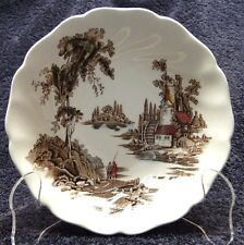 """Johnson Brothers The Old Mill Cereal Bowl 6 1/8"""" Multi-Color EXCELLENT!"""
