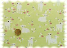Sweet Sheep Stretch-Jersey grün Hilco Shirtstoff by JaTiJu 50 cm