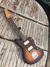 Fender Jazzmaster Classic Player Guitarra Mim actualizado de vídeo de demostración