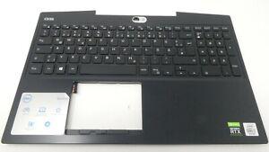 Dell G5 5500 German Backlit Keyboard Palmrest Assembly - TKJ8F F0TP3 C952V