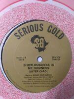 "Sister Carol-Show Business Is Me Business 12"" Vinyl Single 1983 REGGAE DANCEHALL"