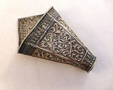 """Beautiful Persian Sterling Decorated Vase-4 1/2"""""""