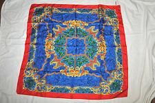 Vintage V. FRAAS CAPRE DIEM 100% Silk Scarf  Made in Italy  Unworn!!!