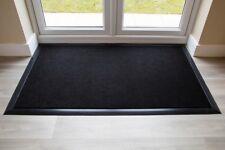 BEST Commercial Brush Entrance Mat Black Rubber Edge 100cm x 200cm UK Floor Mat