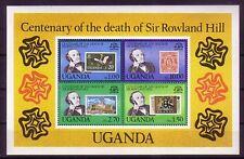 Uganda Michelnummer Block 20 postfrisch ( Hill : 40)