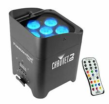Chauvet DJ Freedom Par Tri-6 Wireless Battery RGB LED Wash Light Effect w/Remote