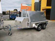 Loadmaxx all aluminium 8x5 tradesman trailer for builders