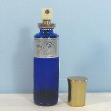 """EVENING IN PARIS BOURJIOS spray cologne almost empty blue bottle 5"""" ʱ Q1"""