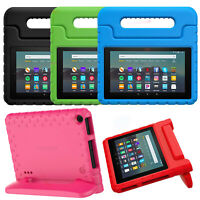 Moko Kid Shock Proof Portable Handle Stand Cover Case for New Amazon Fire 7 2019