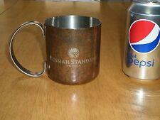 RUSSIAN STANDARD - VODKA, Metal Coffee Cup, Vintage