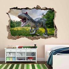 Dinosaurio Jurásico Selva Pared Adhesivo Mural Calcomanía Cuarto de Niños Decoración Infantil BH23