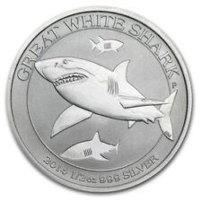 Australia Great White Shark 2014 50 cents. 0,5 OZ (15,55 gr.) Argento 999 Silver