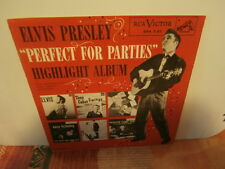 "elvis presley""perfect for parties""ep7""usa.or.1956.rca:spa7-37. promo.near mint."