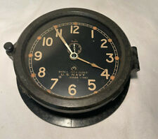 New listing Ww 2 Chelsea Us Navy Ship's Mark I Deck Clock #43568 - 1943 - Bakelite