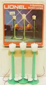 Lionel 6-2170 Green Plastic Street Lamp Posts NIB