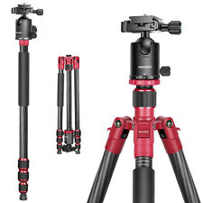 "Neewer Tripod Monopod 67"" Carbon Fibre with Ball Head 1/4""Quick Release Plate"