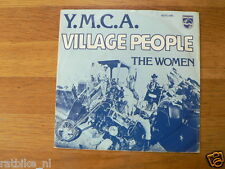 EP MOTORCYCLE COVER VILLAGE PEOPLE YMCA THE WOMEN SINGLE 7 INCH B