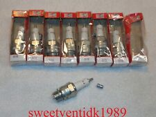 (8).....'NOS' Champion D16 Spark Plugs....18mm.....MADE IN U.S.A.