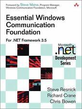 Essential Windows Communication Foundation (WCF): For .NET Framework 3.5 (Micros
