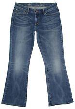 Levis Demi Curve Boot Jeans Womens Size 29 30x29 Low Rise Stretch Hemmed Denim