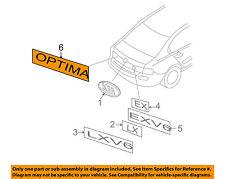 KIA OEM 06-08 Optima Trunk Lid-Emblem Badge Nameplate 863102G100